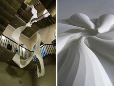 Richard Sweeney – Artfully Twisted Paper Sculptures