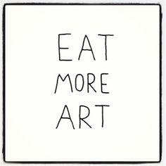 #eat #art #inspiration