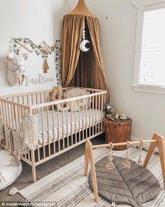 17 ideas baby nursery in parents room cribs Boho Nursery, Nursery Room, Girl Nursery, Nursery Decor, Bedroom Decor, Floral Nursery, Project Nursery, Nursery Prints, Nursery Wall Art