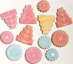 Pinner Wrote:cakes Themed Cookies