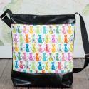 Meska - Mintás  textilbőr táska nyitraiadi kézművestől