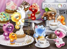 Ravensburger 14144 'Gelini Breakfast Coffee' Jigsaw Puzzle 500 Pieces by Ravensburger - Shop Online for Toys in NZ