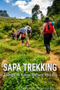 Thinking about going on a multiday trekking in Sapa? Read this first - so you won't be dissapointed! #Sapa #Trekking #Vietnam