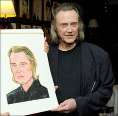 "Christopher Walken gets ""Dorian Gray"" wrong"