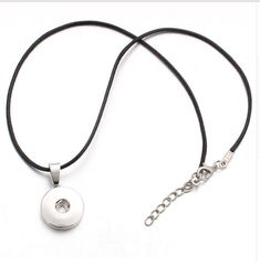Vocheng Wholesale 2 Style Chain 18mm Snap Necklace Stainless Steel Chain Nn-080 Pack of 10pcs
