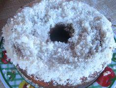 Torta especialisima bañada con almibar de coco