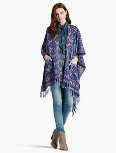 Lucky brand patchwork kimono
