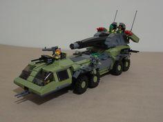 Rolling Thunder | by Magnus-L Gi Joe Vehicles, Armored Vehicles, Lego Vehicles, Lego Military, Military Vehicles, Micro Lego, Rolling Thunder, Action Toys, Lego Worlds