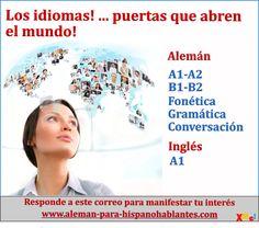 CURSOS: ALEMÁN E INGLÉS, INFORMES info@xplainme.com  - http://www.aleman-para-hispanohablantes.com