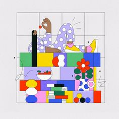 Tylko × Justyna Stasik by Justyna Stasik Apple Illustration, Graphic Design Illustration, Postcard Design, Design Art, Character Design, Sketches, Drawings, Artwork, Ideas