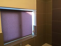 Roller blind for the bathroom. Chester.  http://blindschester.co.uk