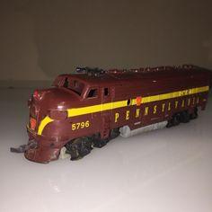 Penn Line Pennsylvania Diesel Engine Maroon 5796 | eBay