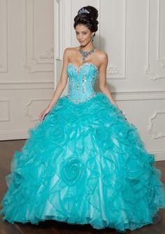 robe de mariée bleu   Robe de mariée bleu turquoise