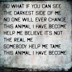 Animal I Have Become -Three Days Grace