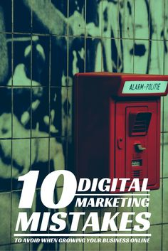 10 Digital Marketing Mistakes To Avoid - Marketing your business online is not for the faint of heart.  Digital marketing takes a ton of time, a good chunk of cash, and consistency for months on end.  So save yourself some time and checkout these common missteps in our latest blog post: http://www.twolegit.com/blog/10-Digital-Marketing-Mistakes-To-Avoid/   Thanks to Davey for this awesome photo, go check out his work at http://www.daveyheuser.com.
