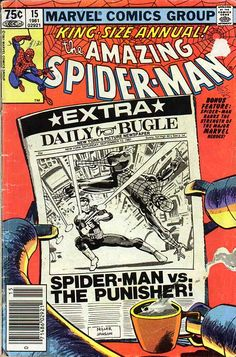 "You say you didn't know Frank Miller could do light humor? Oh, wow, you've been missing out! This hilarious and perfectly plotted gem from 1981 once again teams Miller with scripter Denny O'Neil for a picture-perfect romp through Spidey's NYC with Doctor Octopus. Just superb. ""See you around...and around...and around...."""