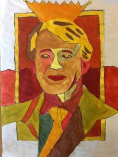 Nieuw portret koning Willem Alexander 1 1ste jrs