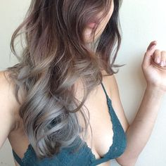 Gray ombre by Mishi~~ | Yelp
