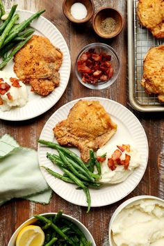 Save the recipe! Pork Chop Recipes, Grilling Recipes, Pan Fried Pork Chops, Paprika Pork, Macaroni Cheese, Best Dishes, Recipe Of The Day, Fries, Curry