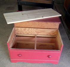 Full Circle Creations: Dresser bench...