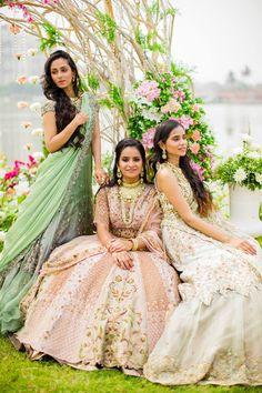 'Me & My Besties' - A Bridesmaids Photoshoot by ZoWed! Pakistani Wedding Photography, Photography Poses Women, Wedding Photography Poses, Wedding Poses, Photography Basics, Bride Sister, Sister Wedding, Indian Bridal Fashion, Bridal Photoshoot