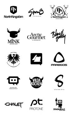 Inspiration Gallery #005 – Logotypes   From up North