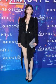 Astrid Berges-Frisbey: Ghost in the Shell Premiere in Paris Celebrity Fashion Looks, Celebrity Photos, Celebrity Style, Astrid Berges Frisbey, Ghost In The Shell, Elle Fanning, Red Carpet Dresses, Pretty Woman, Style Me