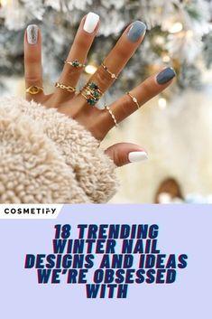 Cute Acrylic Nails, Cute Nails, Gel Nails, Manicure, Winter Nail Designs, Nail Art Designs, Nail Color Combinations, Cute Nail Colors, Sweater Nails