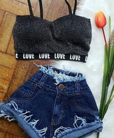 Teen Girl Outfits, Teenage Outfits, Outfits For Teens, Summer Outfits, Cute Casual Outfits, Pretty Outfits, Mode Rockabilly, Dance Outfits, Fashion Outfits