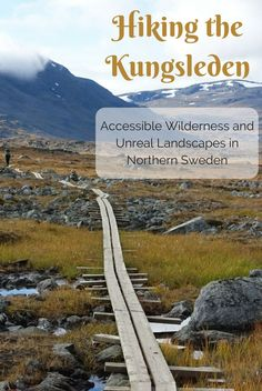 Hiking the beautiful Kungsleden (King's Trail) in northern Sweden, from Kebnekaise (from Nikkaluokta) to Abisko. A journey across dramatic mountain passes, vast open valleys and elegant lakes in the Arctic Circle in early autumn.
