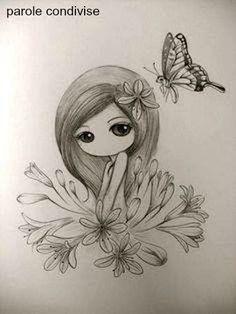 La farfalla, questo biglietto d'amore piegato in due che cerca l'indirizzo di un…
