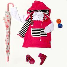 Baby & Toddler girls Winter dress & vest set Li'l Zippers AW15