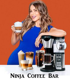 If you're shopping for a coffee lover, a popular gift idea for the holidays, birthdays and anniversaries are giving appliances that produce cups of coffee, latte, cappuccino, like Ninja Coffee Bar