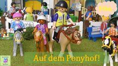 Playmobil Film Deutsch AUF DEM PONYHOF Teil1 unserer Ponyhof Serie ♡ Pla...