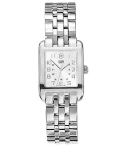 Victorinox Swiss Army Watch, Women's Stainless Steel Bracelet 24022 - Watches - Jewelry & Watches - Macy's
