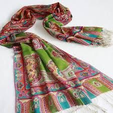 Rangoli pashmina scarves