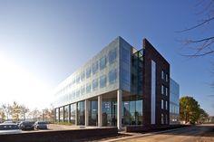 Architektenkombinatie Bos Hofman (Project) - Rabobank Etten-Leur - architectenweb.nl Netherlands, Multi Story Building, Architecture, Interior, The Nederlands, Arquitetura, The Netherlands, Design Interiors, Holland