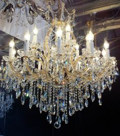 Designer Chandelier Australia  Pty Ltd - 18 Arm Maria Theresa - Antique Gold- Width:90cm Height:90cm, $1,499.00 (http://www.designerchandelier.com.au/18-arm-maria-theresa-antique-gold-width-90cm-height-90cm/)