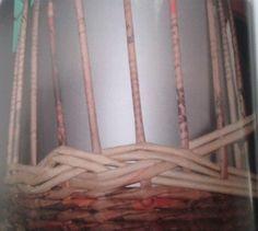 Copánkový vzor :: Pletení z papíru Hanča Čápule