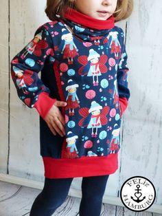 Schnittmuster / Ebook  lillesol basics No.52 Hoodie / Nähen Sweat / Sewing Pattern Hoodie