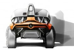 Mercedes-Benz Unimog Concept Design Sketch