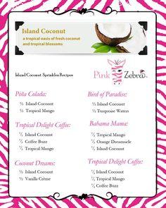 pink zebra recipe cards - Google Search