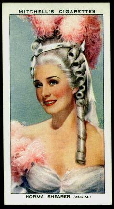 1939. Norma Shearer as Marie Antoinette.