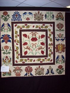 William Morris quilt