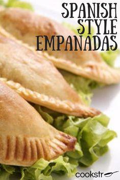 Spanish-Style Empanadas