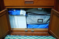 Top organization solutions for your liveaboard sailboat or tiny home.