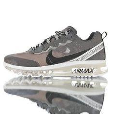 89951a1da9 Mens Running Shoes NIKE AIR MAX 2017 x React Element 87 White Gray AQ1019 -001