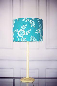 Nursery lamp shade blue nursery sale rabbit by ShadowbrightLamps ...