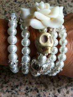 george brother and sister poems famous poems and answers about Skull Wedding, Pirate Wedding, Candy Bracelet, Bracelets, Rockabilly Wedding, Wedding Trends, Wedding Ideas, Wedding Inspiration, Fimo Clay