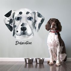 Dalmatian Dog Lover Wall Decal Wall Art Decor 11.18 Follow us for the Latest and Trending items for Dog Lovers ❤ FREE Shipping worldwide ✈ #doglovers #petlovers #doggroomers #dogbreeds #doglovergifts #petowners #pawprint #pawsome #dogmom #dog #dogs #doglover #doglife #doggy #doglove #puppies #doggie #doggies #dogprints